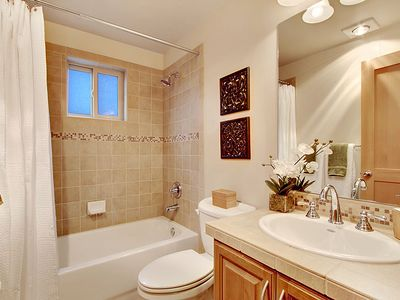 Bathroom #3 - This full bathroom is located between Bedroom #3 and Bonus Room.