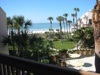 View of Crescent Beach from third floor balcony which is off the master bedroom.