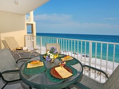 Enjoy Fabulous View of Gulf from Large Balcony