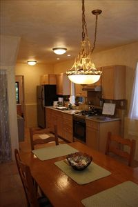 Large 1st floor kitchen and dining room-perfect for the chef at heart.