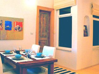 Istanbul apartment photo - Dining area. Door to bedroom