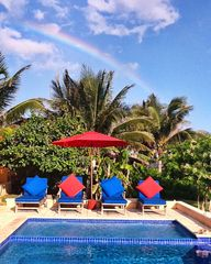 Isla Mujeres house photo - Look for rainbows