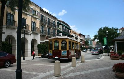 Restaurants and Shopping at CityPlace