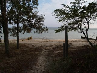 Deltaville cottage photo - Beach Path to the River