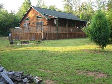 Rutherfordton cabin rental - View of Cabin