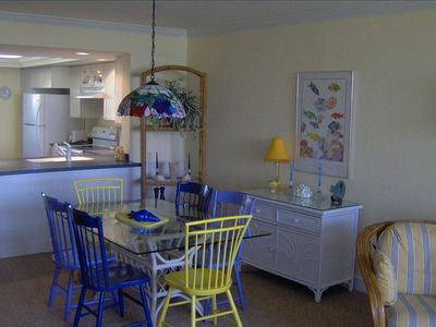 Dining Area. Easy Access to Kitchen.