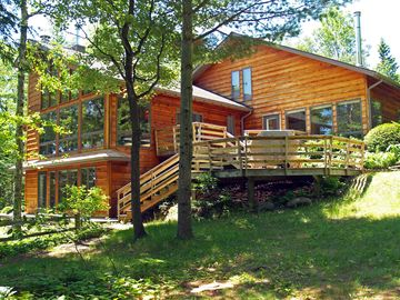 Bayfield house rental - Whispering Pines on Lake Superior