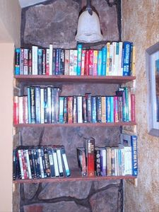 Winter Park condo rental - Condo library--books, videos, and DVD's.
