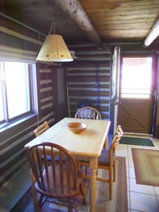 Winter Park cabin rental - Breakfast Table in kitchen