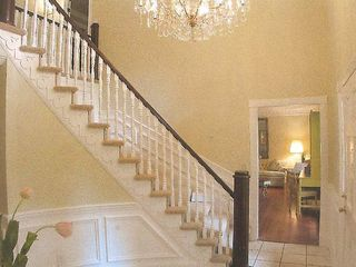 Stone Mountain house photo - beautiful victorian staircase.