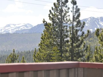 Views from the front deck, just outside the living room.
