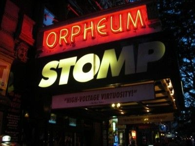 Stomp, just around the corner