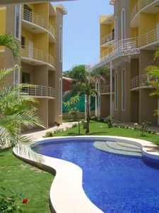 Tamarindo condo rental - Pool area