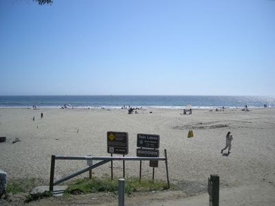 Twin Lakes Beach within short walking distance