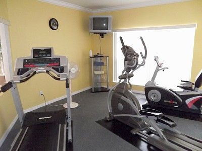 Exercise room in club house