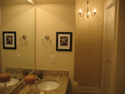 Partial photo of Master bath