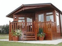 Luxury Holiday Lodge with Lake view at South Lakeland Leisure Village