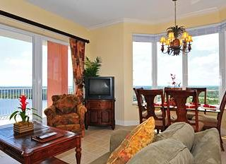 Lake Buena Vista condo photo - Spacious, luxury living area - bright beautiful views with natural light!
