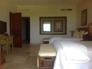 Punta Cana condo photo - Oceanview Suite with two queen beds. Door is privacy door to living/dining/bar.