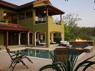 Villa Carao 8 in Reserva Conchal with private pool, jacuzzi & raised fireplace