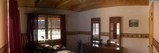 Greenville cabin photo - Panoramic view of the downstairs (master) bedroom.