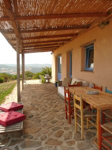 Arzachena villa rental - front patio