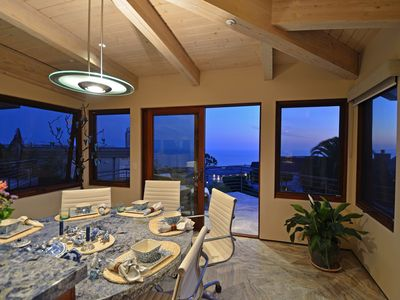 Laguna Beach estate rental - Breakfast Table
