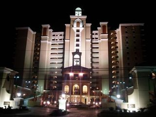 The SouthWind front view (at night).