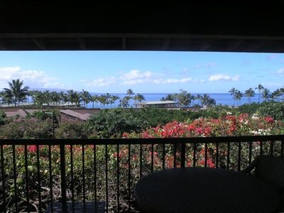 View from lanai toward kahoolawe