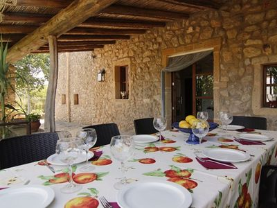 Neat Mallorcan finca, Arta region, with large terraces and pool