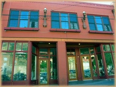 Bisbee apartment rental - The Bisbee Loft is upstairs a historic commercial building downtown Old Bisbee.