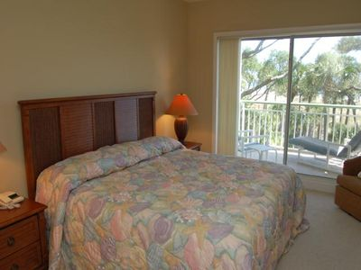Master Bedroom with private oceanfront balcomy