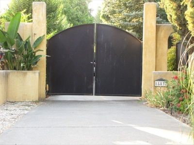 Entry Gate off street