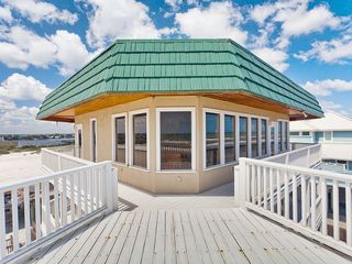Summer Haven house photo - Enjoy our large 3rd floor wrap-around ocean front deck.