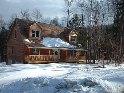Stratton Mountain house rental - Front
