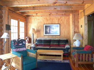Kerr Lake Log Cabin On Calm Cove With Gentle Homeaway