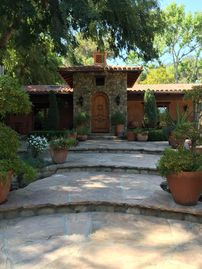 Ojai house rental - Entry