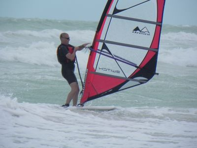 excellent windsurfing and kiting conditions - bring your own equipment