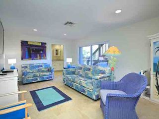 Ponte Vedra Beach house photo - Game room with huge TV-DVD, sleeper, game table, more. New bath in background!