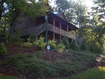 Rutherfordton cabin rental - Front of cabin