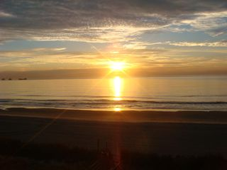 Surfside Beach condo photo - Sunrise from your balcony at Surfside Beach