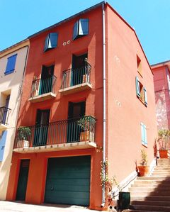 MODERN TRADITIONAL HOUSE - 1A. STUDIO & 1B. DUPLEX 2 BED/SHOWER -  PORT VENDRES