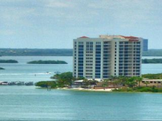 Fort Myers Beach condo photo - Exterior aerial of building