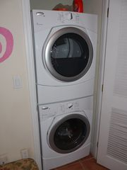 Cruz Bay condo photo - New stack washer/dryer in one-bedroom side, another on Studio side