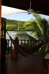 Culebra villa photo - Oceanfront Upper Level Apatment Terrace..