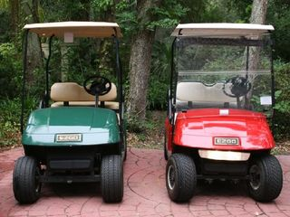 Amelia Island house photo - Two golf carts for your use