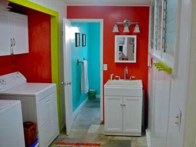 LAUNDRY ROOM AND FULL BATH