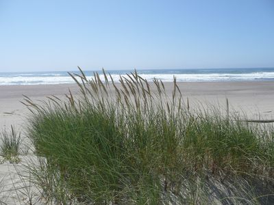 Neskowin townhome rental - Expansive beach - 5 min walk down nature trail from house
