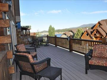 Relax on our deck!