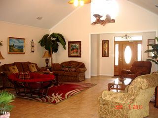 Gulf Shores house photo - Enjoy this large great room that is furnished nicely by Ashly furniture